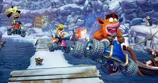 Keseruan Bermain Game Crash Team Racing: Nitro Fueled